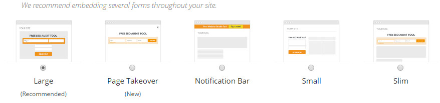 mysiteauditor-forms